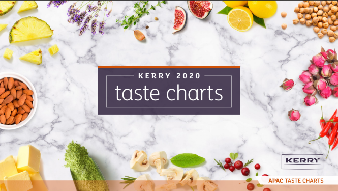 Kerry releases 2020 global taste charts predicting top tastes in the coming year