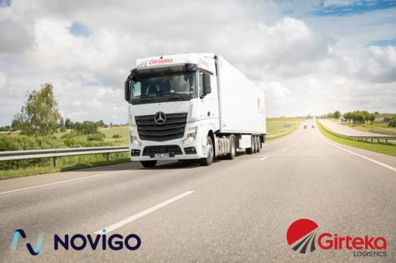Girteka Logistics selects Novigo for the digital transformation of its transportation operations