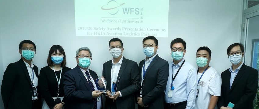 Airport Authority Hong Kong honours Worldwide Flight Services with three annual safety awards