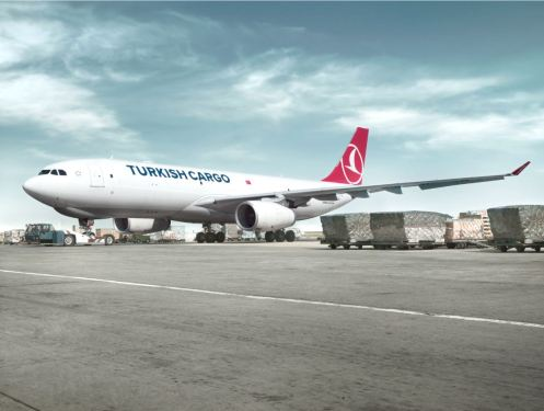 1 of every 20 air cargo, carried throughout the world, rises by Turkish Cargo