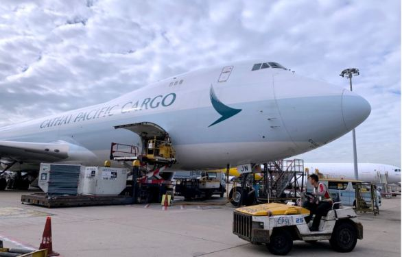 Cathay recertified for pharma cargo in time for vaccine roll-out