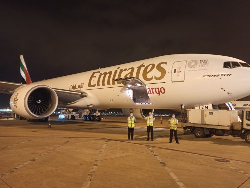 Emirates SkyCargo: 18 years of cargo flights to Shanghai