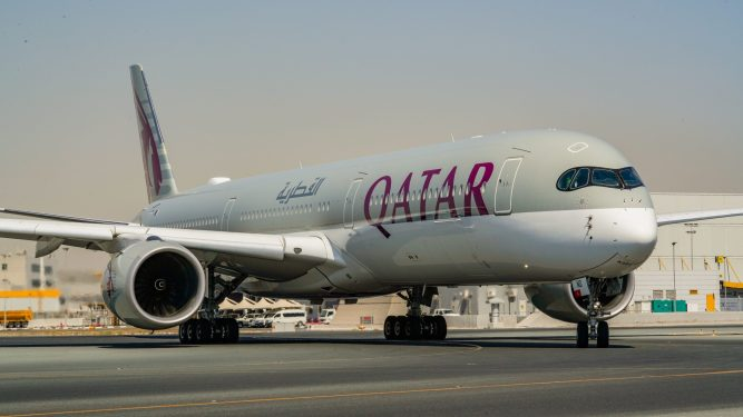 Qatar Airways takes three new A350-1000s as A380s remain grounded