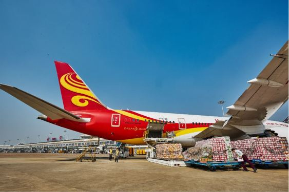 Hainan free trade port opens international air cargo route