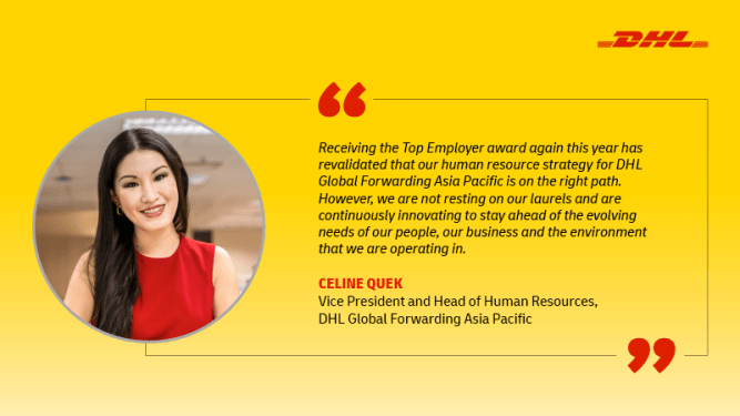 Why DHL Global Forwarding is Asia Pacific's top employer