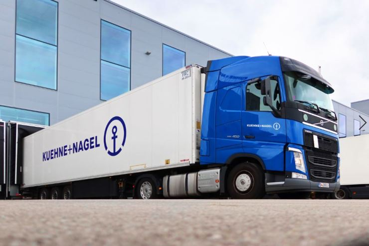 Kuehne+Nagel road logistics