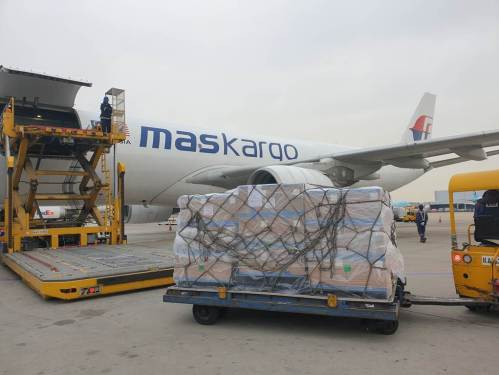 MASkargo transports urgent test kits on first charter flight