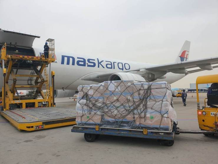MASkargo Delivers its First Charter Flight of the Year