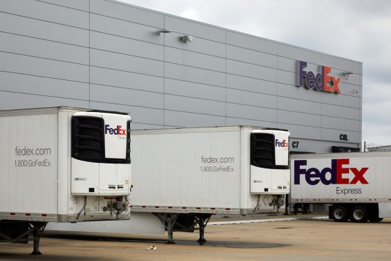 FedEx expects volume uptick with third vaccine in the US