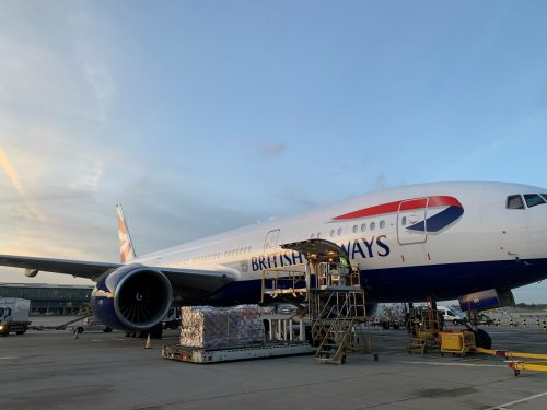 IAG Cargo charters flights to rev up the auto industry