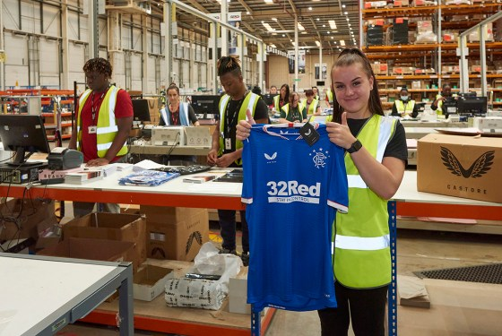 SEKO Logistics is Rangers FC's official logistics partner