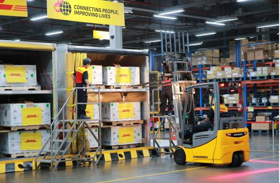 DHL Express delivers US-donated jabs to Thailand