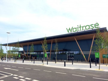 Waitrose store contactless cashless branch Sky