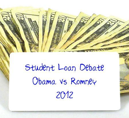 Student Loan Debate - Obama vs Romney