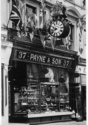 Payne and Son Jewellers of Royal Tunbridge Wells Kent England