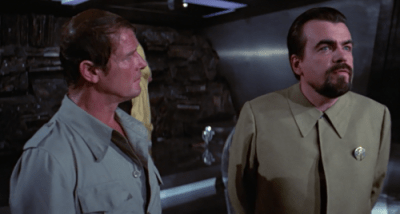 Hugo Drax squared off with Bond in Moonraker