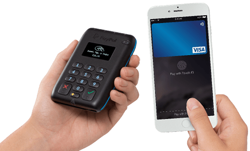 PayPal HERE smartphone payment