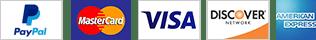 Pago aceptado: PayPal, Visa, MaterCard, American Express