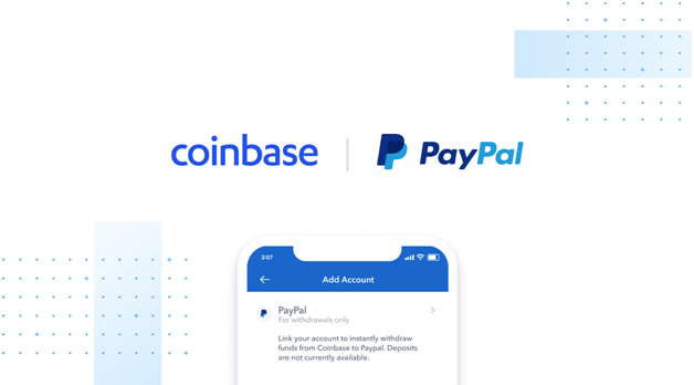 Coinbase and Paypal