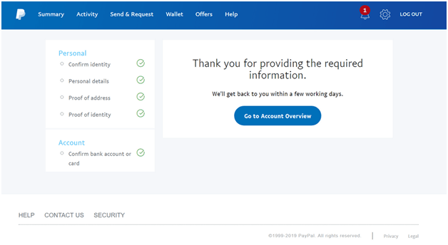 How to remove the Paypal account limitation?