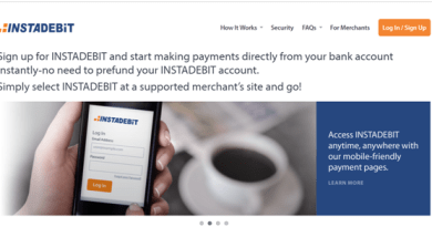 Instadebit best PayPal alternative for Canadians