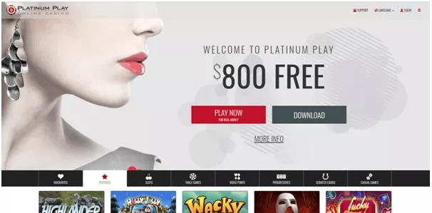 Platinum Play Canada