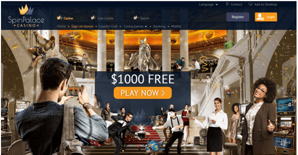 Spin Palace Canada- Promotions