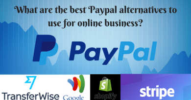 What are the best Paypal alternatives to use for online business