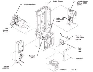 Complete Housing :: Housings & Housing Parts :: Payphone