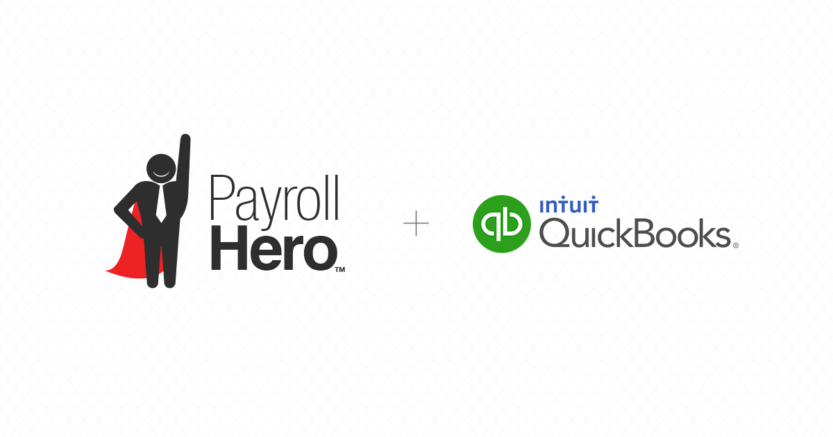 Integrate Quickbooks with your payroll data!