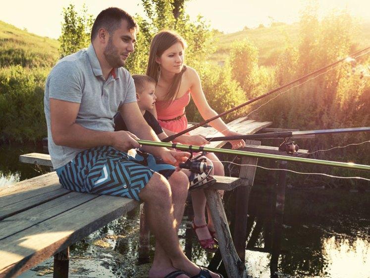 Séjours Pêche en famille