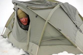 tente de camping pour le froid