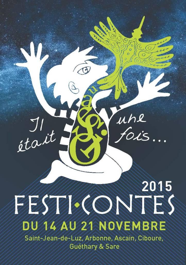 Festi-contes 2015 médiathèque saint jean de luz