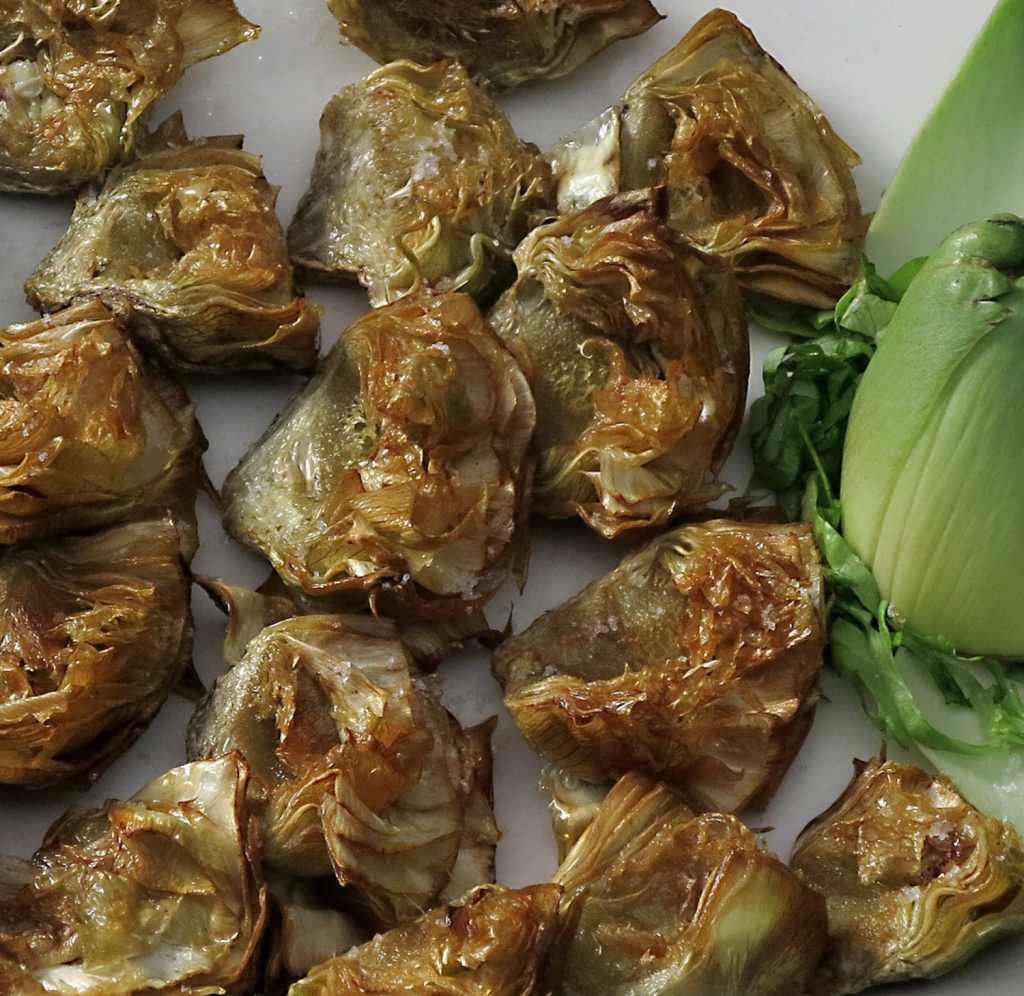 trinketeborda-paysbasque-irun-artichauts frits