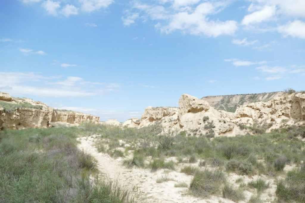 Navarre-pays-basque-barnedas-reales-randonnée-espagne-désert