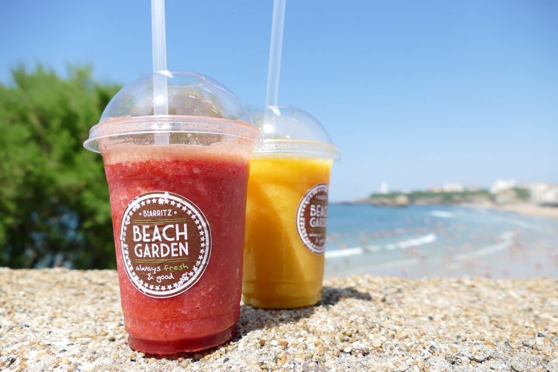le-beach-garden-terrasse-pays-basque-smoothie