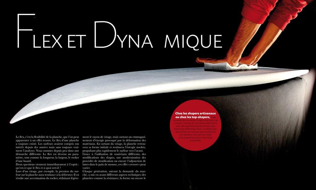 page intérieur du livre Surf & Shape : le flex des planches