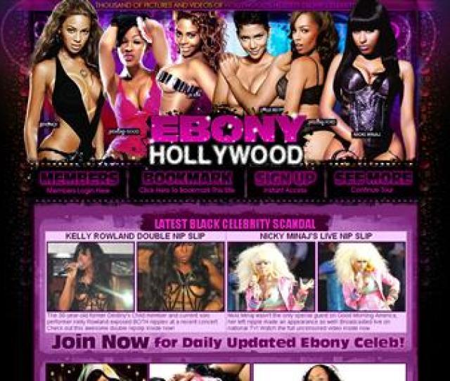6 Celebrity Website Ebony Hollywood