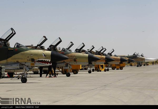 Iran Air Force Begins Large-scale Drills In Isfahan