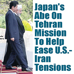 Image result for PHOTOS JAPAN'S PRESIDENT ABE SHINZO MEETING IN IRAN