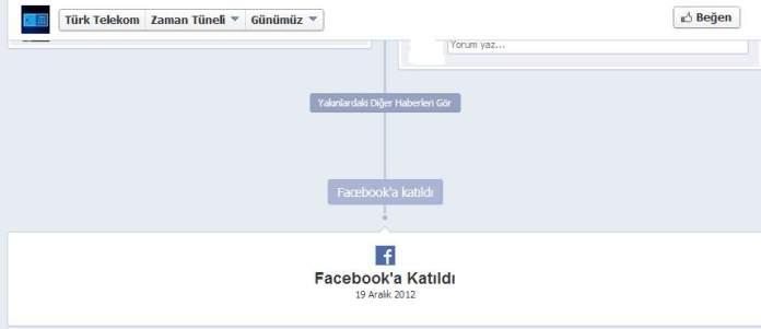 facebooka katıldı