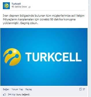 turkcell deprem