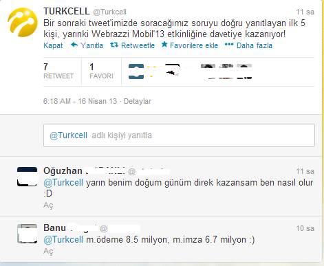 turkcell yarışma