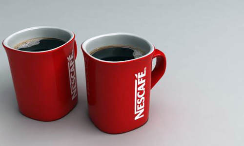 nescafe coffee cup