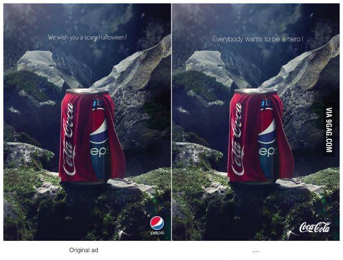 pepsi-halloween-coca-cola-everyone-wants-to-be-a-hero