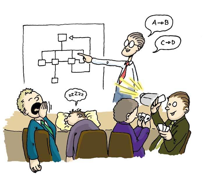oral presentation nervous