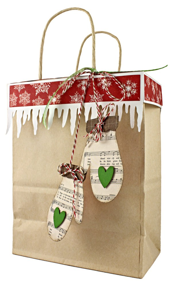 12 Gifts of Christmas Day 3 Gift Bag Topper Pazzles