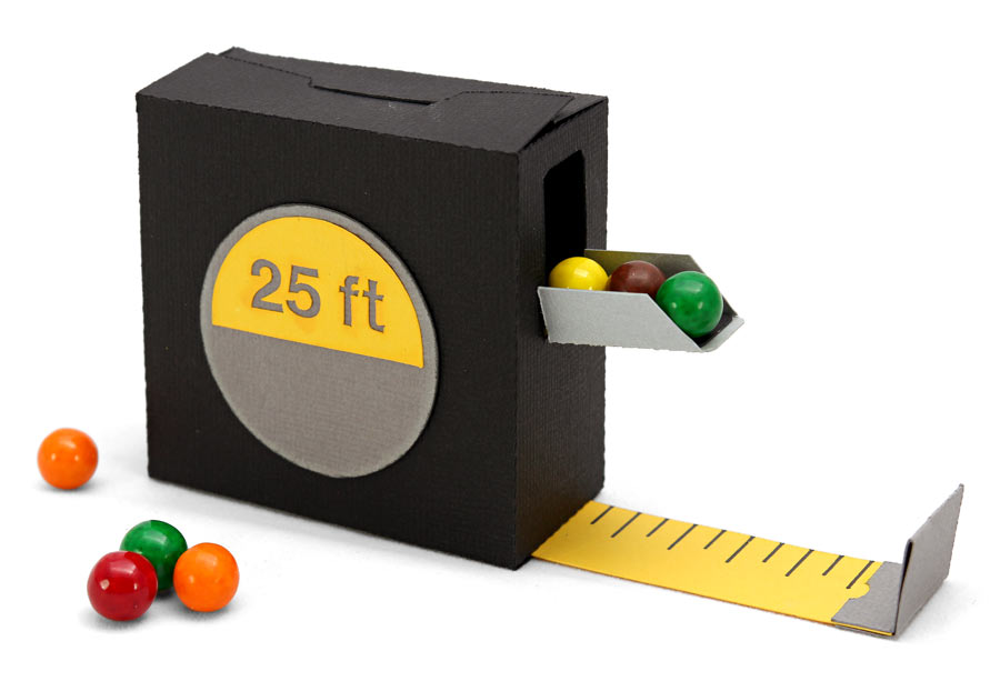 Father's Day Tool Belt Part 3 Measuring Tape Candy Box