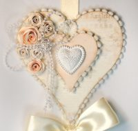 Hanging Hearts Wall Decor - Pazzles Craft Room