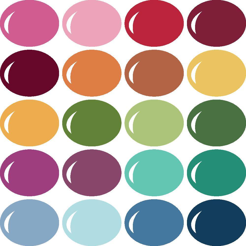 InVue Color Palette: MME My Colors 6 - Pazzles Craft Room